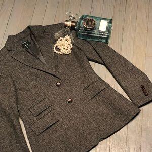 JCrew Hacking Herringbone Menswear Blazer Jacket